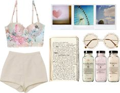 """""""summer"""" by sarahcwalker ❤ liked on Polyvore"""