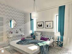 Subtelna sypialnia glamour - zdjęcie od Anna Przybylska Design