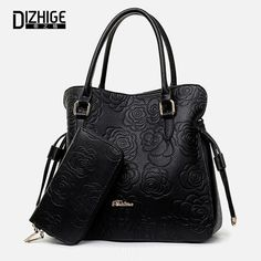050889c025 Cheap handbags with flower on front