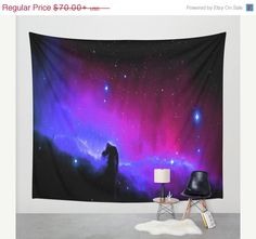 Hey, I found this really awesome Etsy listing at https://www.etsy.com/listing/232664785/bday-sale-wall-tapestry-purple-blue
