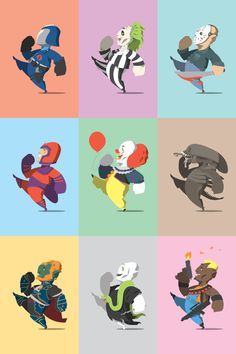 Happy Little Bad Guys - Wave 2 by Florey, via Behance
