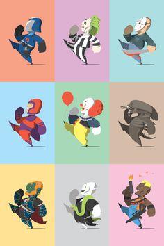Happy Little Bad Guys - Wave 2 by Florey Florey, via Behance