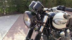 Triumph Bonneville T100 Modified by Nick Serrano 2
