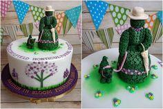 Castlecaulfield Britain in Bloom cake, 2018.