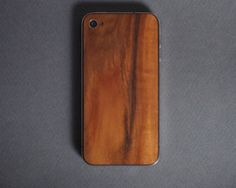 monolith: solid wood iphone back