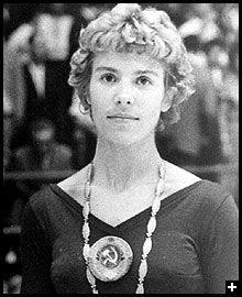 Larissa Latynina, Gymnastics Winner of 18 Olympic medals '56, '60, and '64