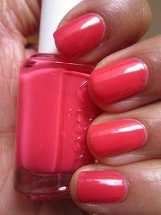 Essie Peach Daiquiri. Tried this, it's a pretty little peachy pink color that's lighter than shown here.
