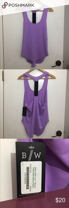 Active Tank (S) NWT Active Tank (S) NWT racer back. New & never worn. Color is lilac from brazilwear.com & Barre3. Brazil Wear Tops Tank Tops
