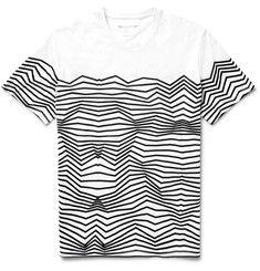 Neil Barrett - Slim-Fit Printed Cotton-Jersey T-Shirt