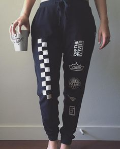 Stay comfy and cozy on a Sunday morning with some coffee and sweatpants.