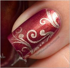 Zoya Shivon stamped with BM-314 and China Glazw 2030 | from The Polished Perfectionist