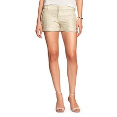 "NWT Banana Republic Boucle Shorts Gorgeous!!! These flattering shorts can be dressed up or down!  A timeless classic brand!! 3 1/2"" - Size 2 Banana Republic Shorts"