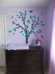 Image Result For Gray Purple And Turquoise Nursery Wall Decals Room