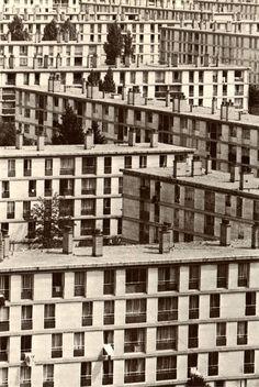 Sarcelles (France), 1967  Photo de J. Windenberger