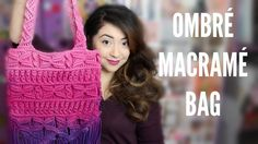 Mayainthemoment shows you how to ombre a macrame bag!