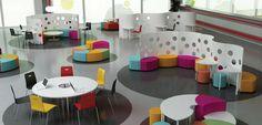 flexible moveable furniture * colour