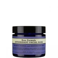 Rose Formula Antioxidant Facial Mask revitalises and brightens normal skin. Not tested on animals, dermatologically tested