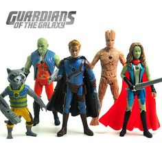 guardians of the galaxy 2 toys   Aliexpress.com : Buy Guardians of the Galaxy Action Figure Toys Rocket ...