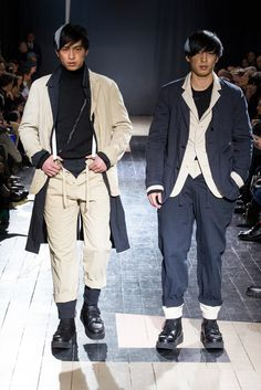 Yohji Yamamoto Fall 2015 Menswear - Collection - Gallery - Style.com
