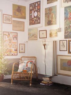 Sisters Guild - gallery wall sitting corner