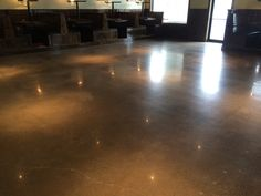 Hard and Durable Polished Concrete in Searcy, Arkansas.