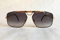 Cazal 735 Col 302 Vintage Sunglasses New Old Stock Made in West Germany #cazal #etsy