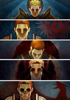 Dragon Age: the many lives of Alistair. This hurts my heart more than it probably should.