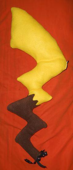 cdb772b4303b DISCONTINUED! Pokemon Inspried Cosplay Pikachu Tail