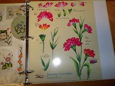 donna dewberry RTG | Donna Dewberrys One Stroke, Year of The Flowers Teaching Guides by In ...