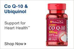 Co Q-10 and Ubiquinol