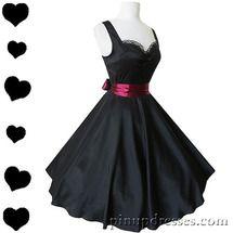 New Black Sweetheart Lace Burgundy Bow Dress