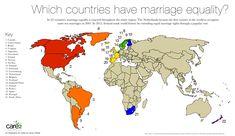 Same-Sex Marriage Around the World (Infographic)