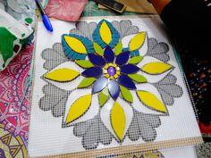 Mosaic Ideas, Mosaic Projects, Mosaic Designs, Mosaic Art, Stained Glass, Backyard, Kit, Pattern, Inspiration