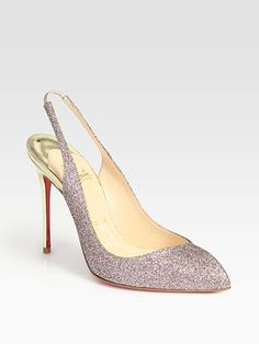 How can you not love it!! Glitter and Christian Louboutin!  oh yeah I guess the 700 dollar price tag lol
