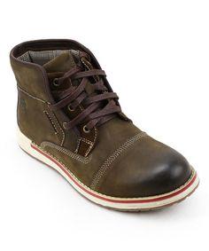 Love this Brown Richland Leather Boot on #zulily! #zulilyfinds