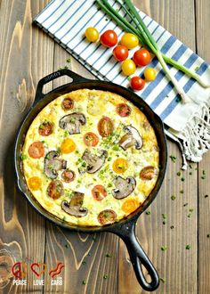 Sausage, Sharp White Cheddar and Heirloom Tomato Frittata - Low Carb, Gluten Free   Peace Love and Low Carb