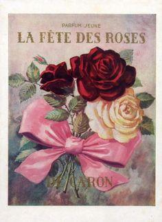 Parfum Jeune La Fête des Roses, de Caron (1949)