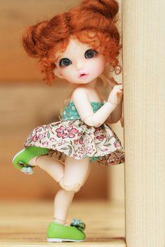 Summer by Yumi♡, doll Beautiful Barbie Dolls, Pretty Dolls, Tiny Dolls, Blythe Dolls, Dolls Dolls, Ball Jointed Dolls, Art Mannequin, Cute Baby Dolls, Anime Dolls