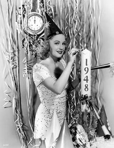 Happy 1948! #vintage #1940s #pinup #New_Years
