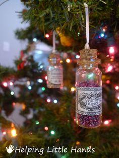 Kings Cross Hogsmeade Christmas Ornament//Magnet//Dollhouse Mini Harry Potter