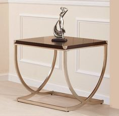 BIRCH VNEER COCKTAIL TABLE By Homelegance Furniture by Homelegance. $242.28. Cherry Red Wood. Occassional Table Collection. Satin Metal. Occasional Table Collection finished in Cherry wood and Satin Metal. Dimensions:48 x 24 x 18H Some assembly may be required. Please see product details.