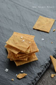 "Baked ""Cheese"" Crisps {Vegan} 