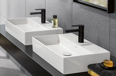 If you love a clean, modern aesthetic you'll love Villeroy & Boch's Memento. 2.0 Basins.  This Counter Top design gives you the flexibility to position the basin in the ideal place on your benchtop, helping you to create your dream bathroom.