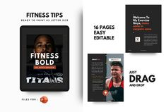 Fitness bodybuilding motivation by rivatxfz Keynote Template, Brochure Template, Fitness Tips For Men, Envato Elements, 26 November, Project Proposal, Bodybuilding Motivation, Brochure Design, Fitness Motivation
