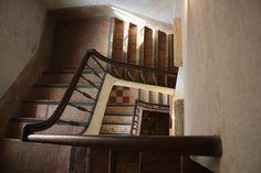 Treppenhaus Geländer des Museum