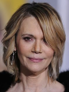 Peggy Lipton  still gorgeous at 66 Great and very natural looking...Hey, we aren't young, but still with it!