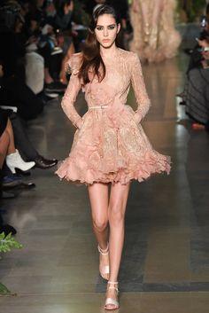Elie Saab Spring 2015 Couture Fashion Show - Tako Natsvlishvili