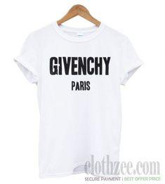 d4a2126e65 Givenchy Paris White T shirt. Givenchy ParisBest DealsSweatshirtHoodieTank  ...