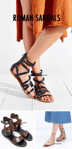 8 Spring Summer Shoe Trends | the roman sandal