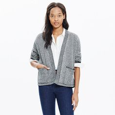 It doesn't get much better than a cardigan sweater knit from our favorite supersoft yarn. Roll back the cuffs for a pop of contrast.  <ul><li>Slightly cropped.</li><li>Cotton/viscose/nylon.</li><li>Hand wash.</li><li>Import.</li></ul>